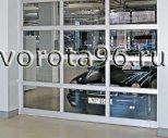 ISD 02 Панорамные секционные ворота