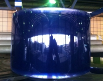 плёночная завеса синяя