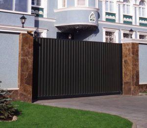 ворота профлист Екатеринбург