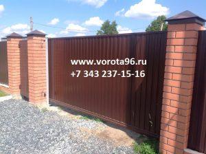 обект2 ворота профнастил Екатеринбург