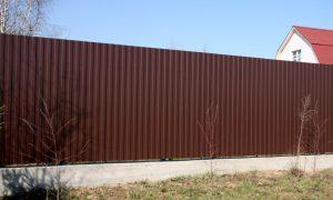 Купить забор в Екатеринбурге